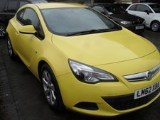 Vauxhall Astra 1.4i 16v Turbo (140ps) Sport (s/s) Coupe 3d 1364cc